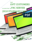 Microsoft Customers using Lync Server 2010 Standard CAL - Sales Intelligence™ Report