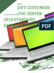 Microsoft Customers using Lync Server 2010 Standard External Connector - Sales Intelligence™ Report
