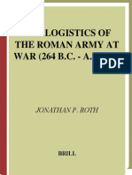 IoT Logistics of the Roman Army at War