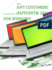 Microsoft Customers using MapPoint® 2011 for Windows - Sales Intelligence™ Report