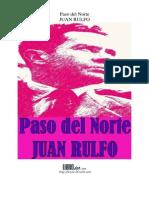 Paso Del Norte Juan Rulfo