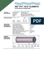 KMS Fluid Systems TFC XR 8 Datasheet