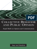 Collective Behavior and Public Opinion