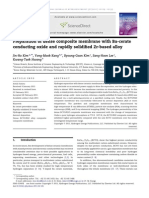 Preparation of Dense Composite Membrane With Ba-Cerate