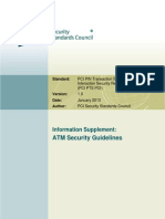 PCI ATM Security Guidelines Info Supplement
