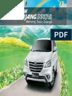Kijang Innova Leaflet