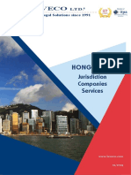 Company formation and bank account opening in Hong Kong