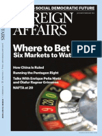 Jan Feb 2014 Edition Foreign Affairs