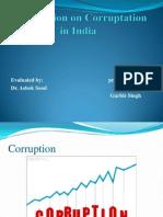 Presantation On corruption