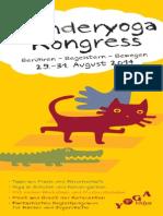 Kinderyoga Kongress 2014  - Berühren-Begeistern-Bewegen