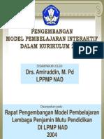 Pengembangan Model Belajar