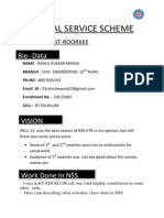 Rahul Resume for Nss