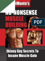 Vince Delmonte No Nonsense Muscle Building