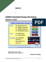 Embedded Design Workshop Student Guide