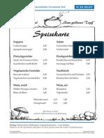 Arbeitsblatt017 Speisekarte
