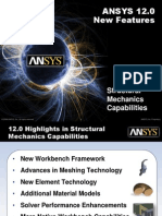 ANSYS 12.0 Update Structural Mechanics