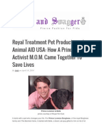 Royal Treatment Pet Products and Animal AID USA