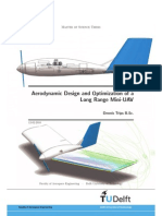 Aerodynamic Design and Optimization of a Long Rang Uav