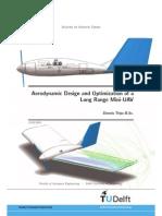 Aerodynamic Design and Optimization of a Long Rang Uav