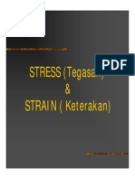 Stress dan Strain