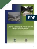 Estudio de La Caracterizacion Climatica de Bogota y Cuenca Alta Del Rio Tunjuelo
