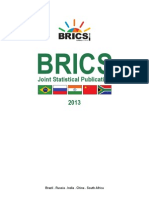 BRICS Joint Statistical Publication 2013
