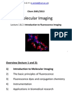 UCL CHEM2601 Imaging L1-2 (Fluorescence Imaging)