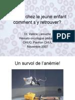 2010L Anemie Chez Le Jeune Enfant