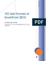 101 New Features in SharePoint 2013