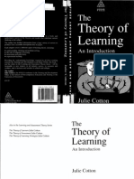 Julie Cotton - The Theory of Learning
