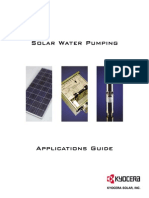 Water Pumping Guide