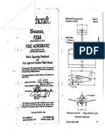Beechcraft Bonanza F33A Pilots Operating Handbook