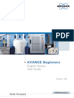 Avance Beginner's User Guide_v.004