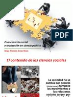Conocimiento social y teorizacón en CP