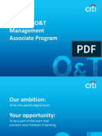 O&T-MA Program