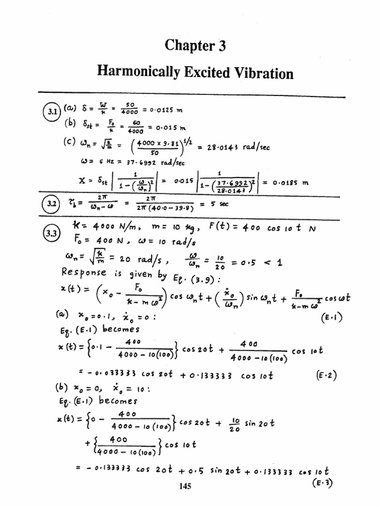 Engineering Vibration Inman Solution Manual Pdf