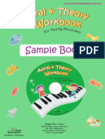 Music Bumblebees Aural & Theory Sample Book