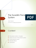Swedish Pension System