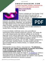Imprimir_ Sincronicidade
