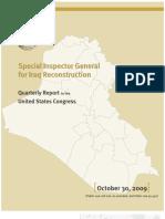 Report - October 2009