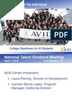 AVID - Advancement Via Individual Determination