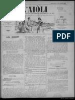 L'Aiòli. - Annado 02, n°40 (7 de Febrié 1892)