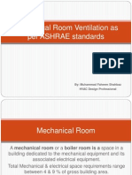 Mechanical Room Ventilation - Presentation