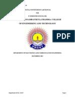 Digital System Design Lab Manual (08.408 Btech Cse Kerala University)