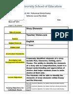 reflective lesson plan model - 450 - revised 20132edu 328