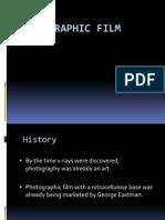 Radiographic FILM