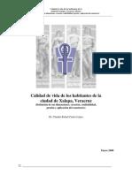 Calidad de Vida en Xalapa