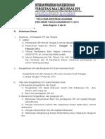Edaran Registrasi Genap 2011-12 Unimal