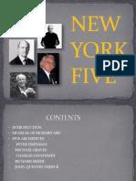 The New York Five (Peter Eisenman,e