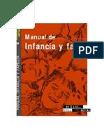 Manual de Infancia y Familia